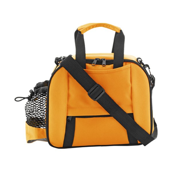 Cooler bag in orange