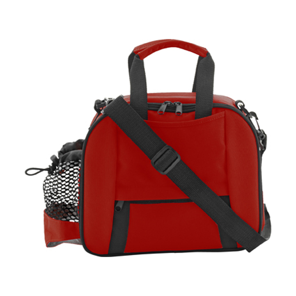 Cooler bag in red