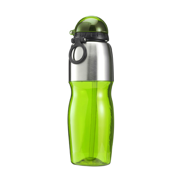 800ml Sports bottle in green