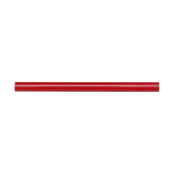 Wooden carpenters pencil in red