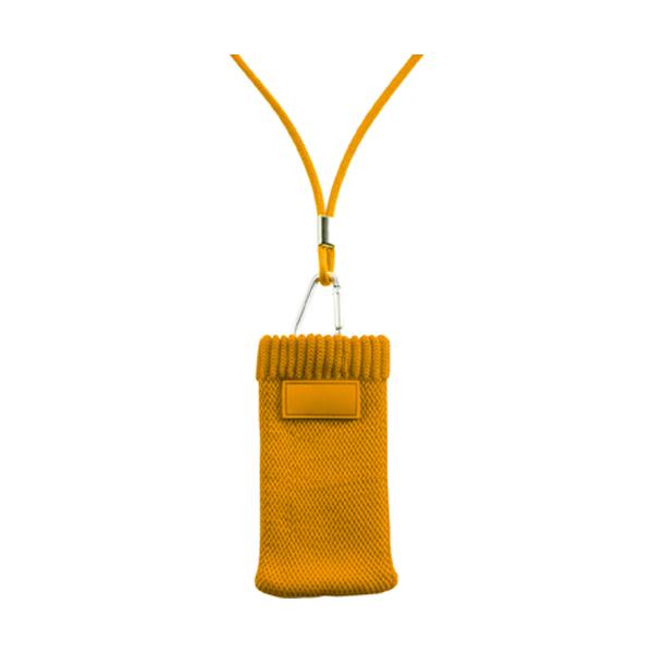 Mobile phone / MP3 cover in orange