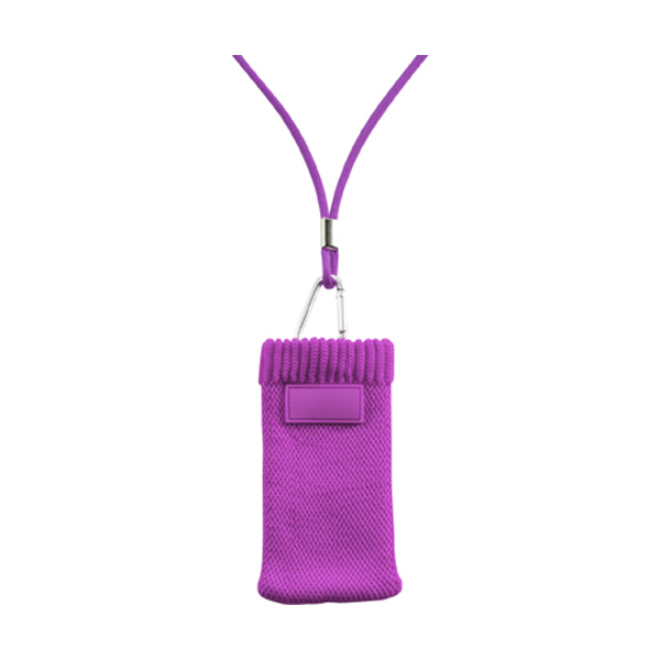 Mobile phone / MP3 cover in purple