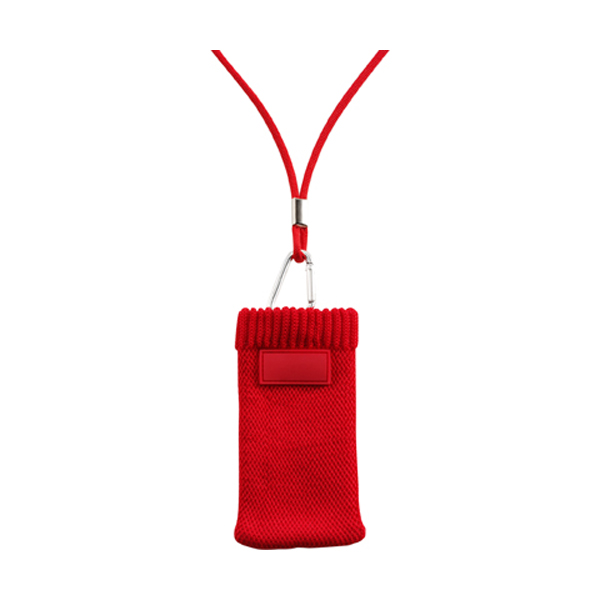 Mobile phone / MP3 cover in red