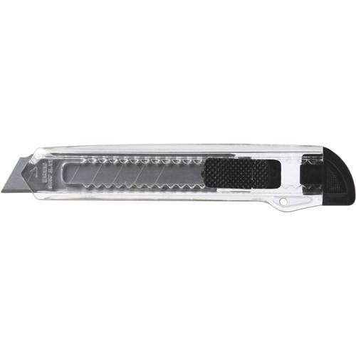 Translucent plastic cutter in black