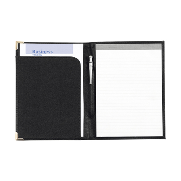 A5 folder, excl pad, (item 8500) in black