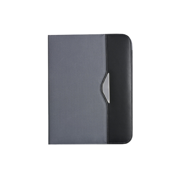A4 Conference folder in grey