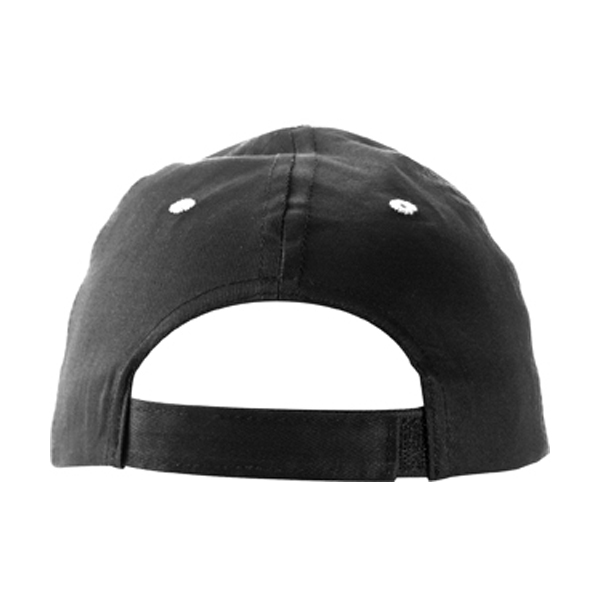 Cap with sandwich peak in black