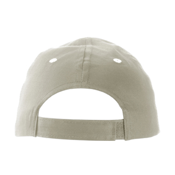 Cap with sandwich peak in grey