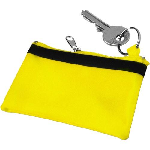 Key wallet in yellow
