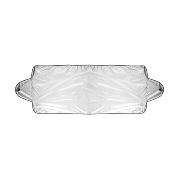 Nylon windscreen cover in silver