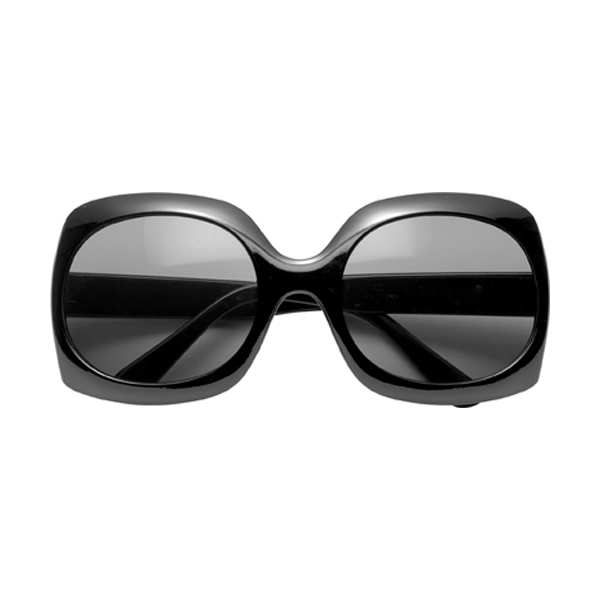 Fashionable sunglasses in black