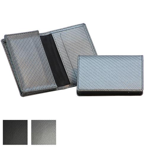 Carbon Fibre Textured Business Card Dispenser