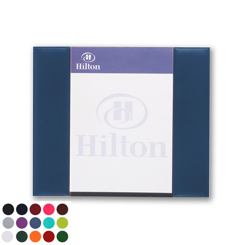 A4 Desk Pad Holder in a choice of Belluno Colours