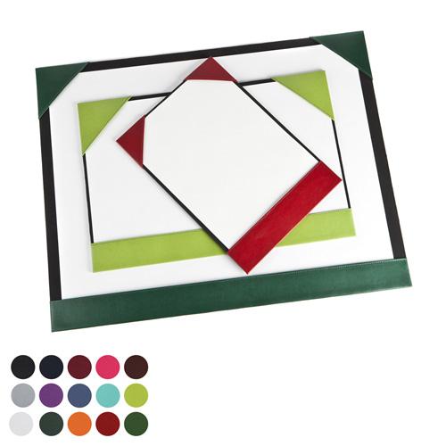 A2 Desk Pad Blotter in a choice of Belluno Colours