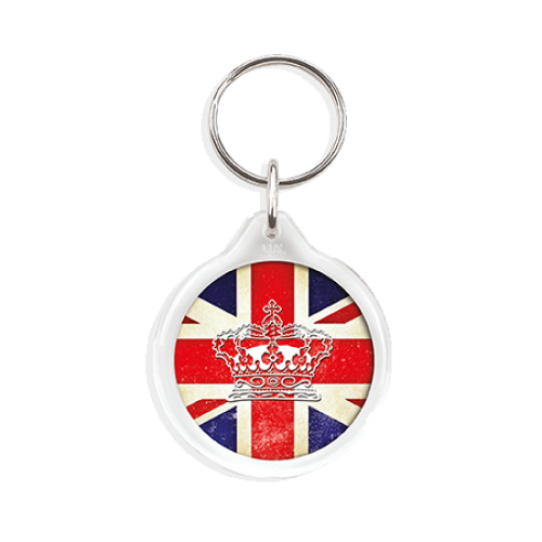 I1 Round Keyring in clear