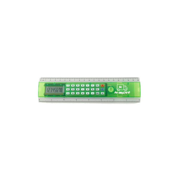 Ruler Calc Calculators in green