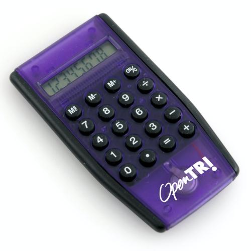 Pythagoras Calculator in purple