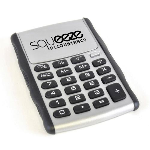 Gauss Calculator in silver