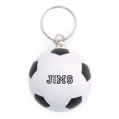 Promotional Stress Football Keyrings