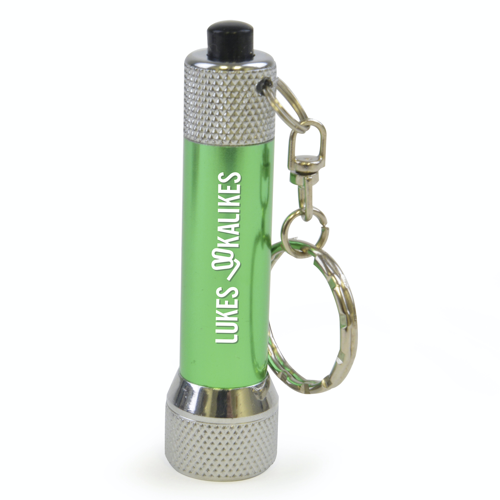 Keyring Torch in green