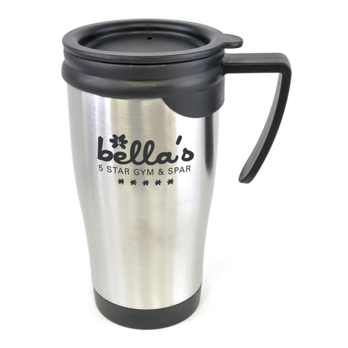 Dali Travel Mugs in silver
