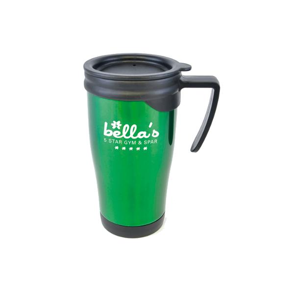 Dali Colour Travel Mugs in green