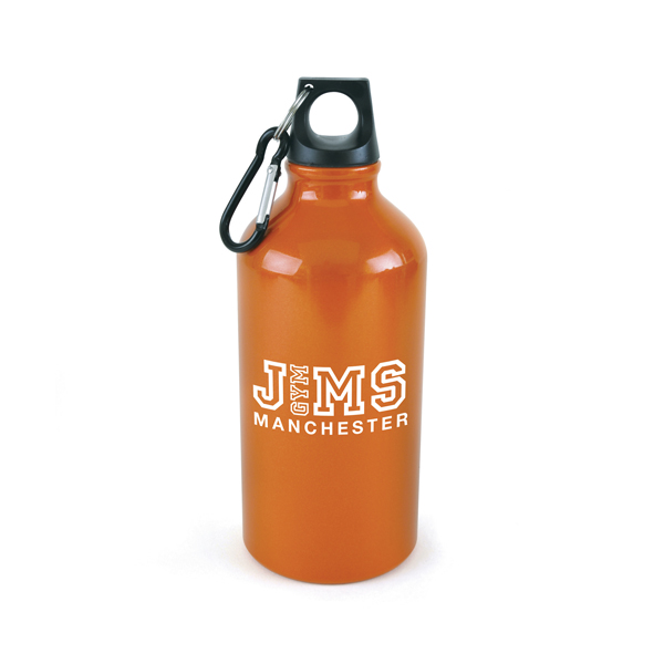 Pollock Sports Bottles in orange
