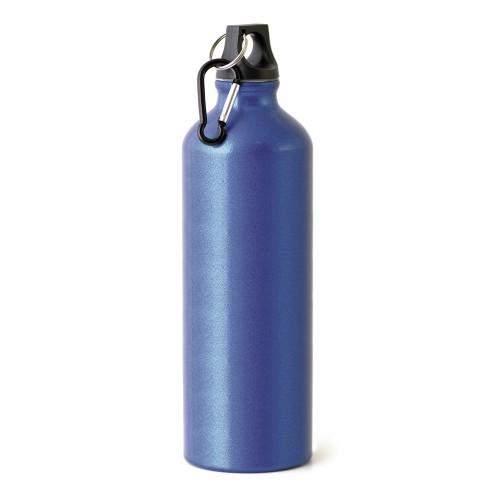 Kennedy 1 Litre Aluminium Sports Bottle in silver
