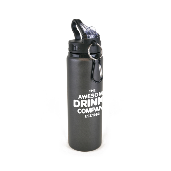 Cherub Sports Bottles in gun-metal
