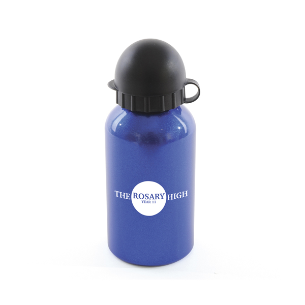 Augusta 350Ml Aluminium Sports Bottle in blue