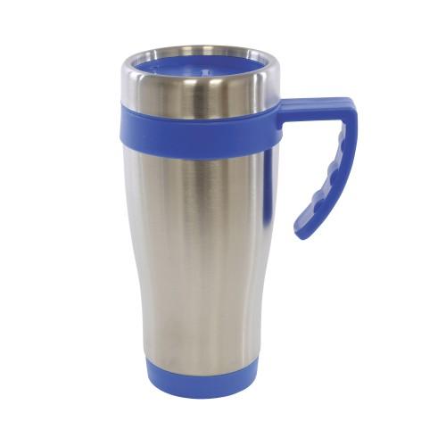 Oregan Travel Mugs in blue