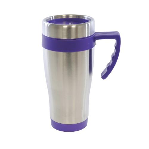 Oregan Travel Mugs in purple