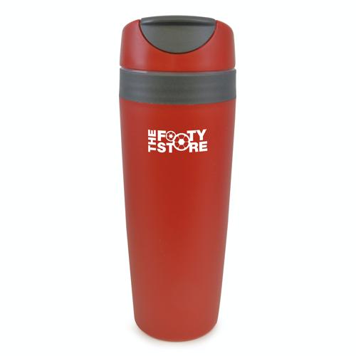 Adelphi 450Ml Plastic Sports Bottle in red