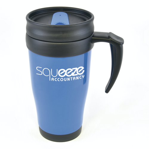 Polo Plus Travel Mugs in blue