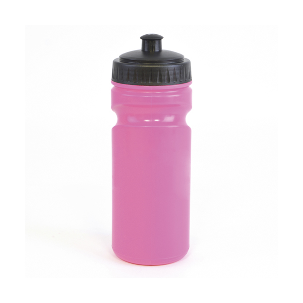 Lioness 500Ml Plastic Sports Bottle in pink