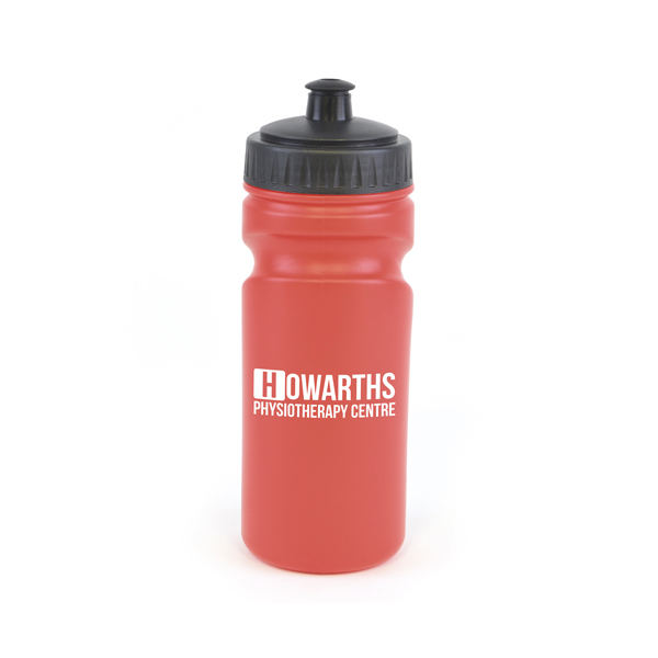 Lioness 500Ml Plastic Sports Bottle in red