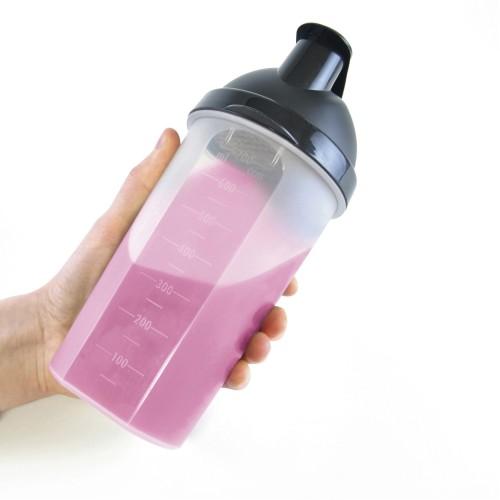 Plastic Shaker in royal-blue