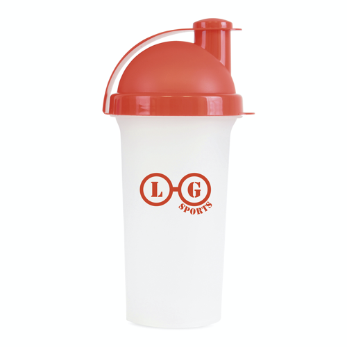 Plastic Shaker in red