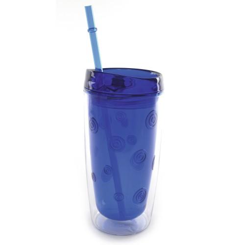 AS Plastic Tumbler in blue