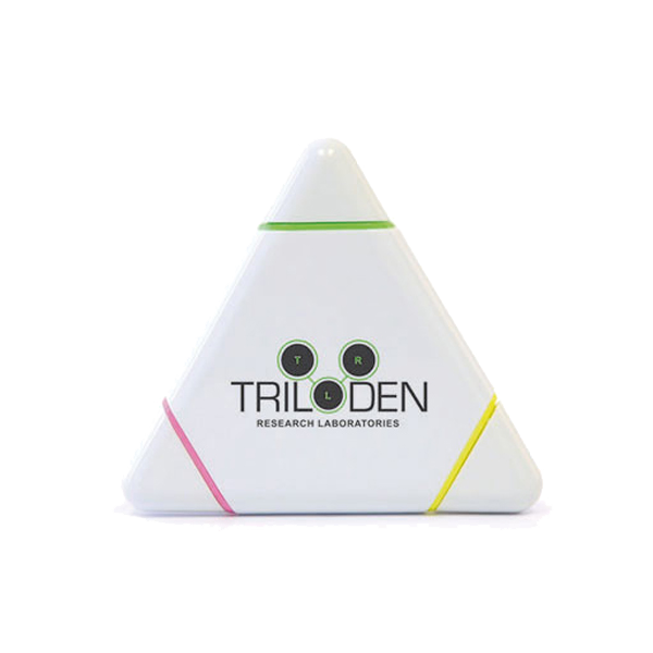 Triangle Basic Highlighter in white