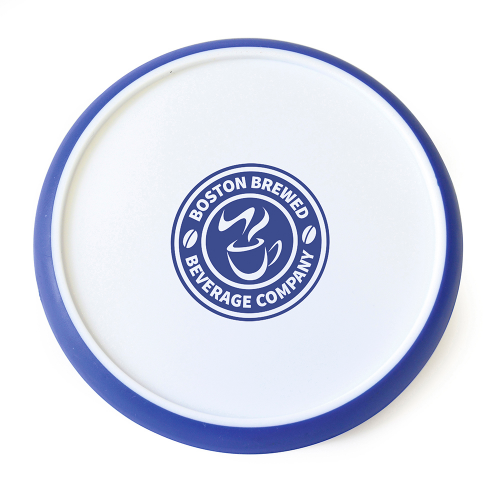 Disc Coaster in red