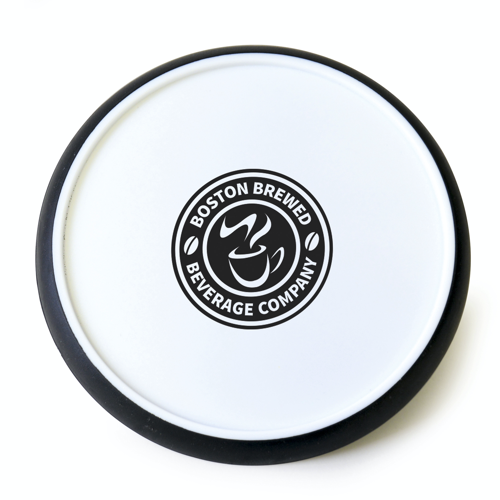 Disc Coaster in black