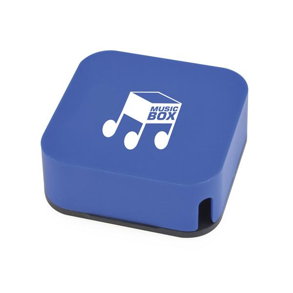 Lydia Dual Purpose Headphone Winder in blue