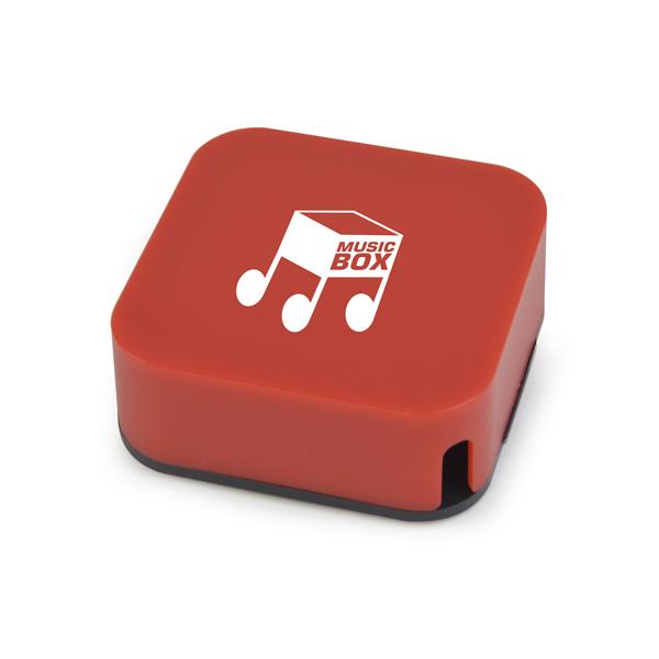 Lydia Dual Purpose Headphone Winder in red