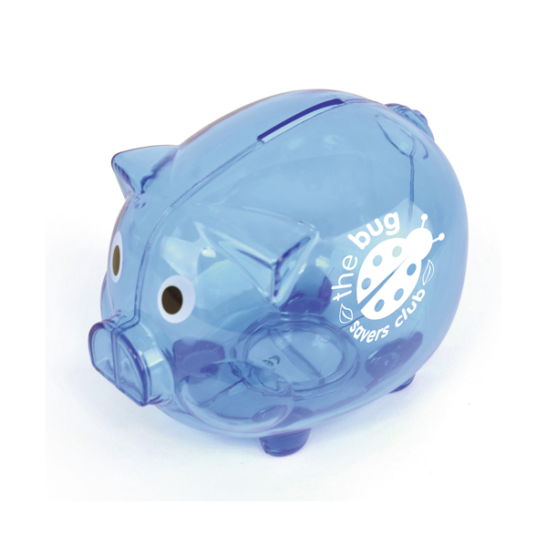 Piggy Money Boxes in blue