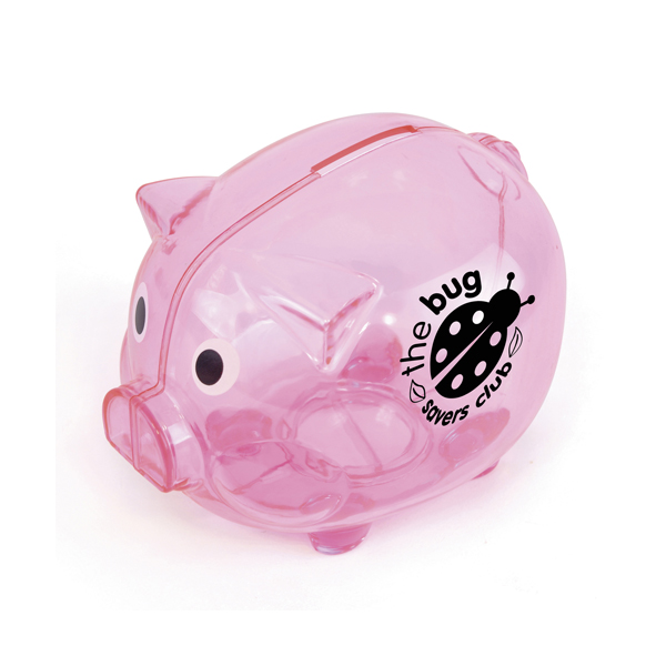Piggy Money Boxes in pink