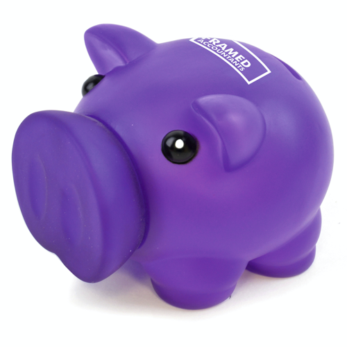 Rubber Nose Piggy in purple