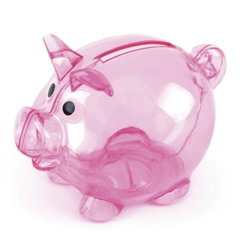 Piglet Bank in pink