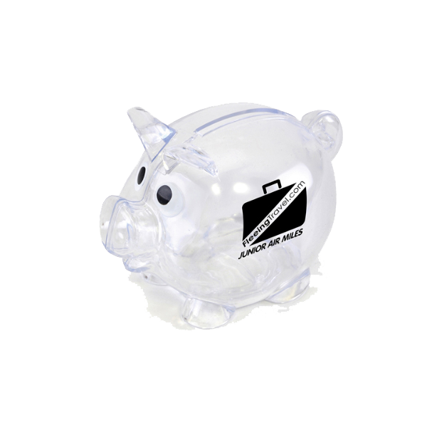Piglet Bank in translucent