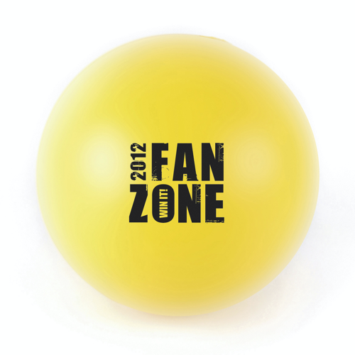 Ball 60Mm Stress Ball in yellow